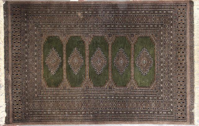A Group of three Pakistani rugs