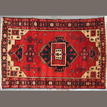 A Southwest Persian rug size approximately 3ft. 4in. x 5ft. 3in.