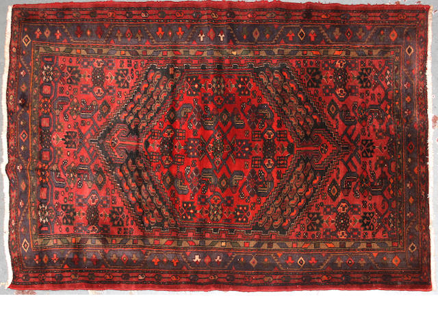 A Southwest Persian rug size approximately 4ft. 5in. x 6ft. 10in.