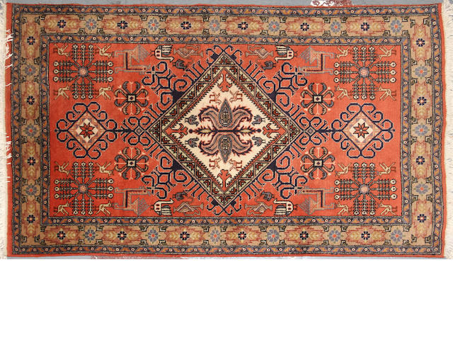 A Northwest Persian rug size approximately 3ft. x 5ft. 4in.