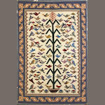 A Navajo rug size approximately 4ft. 2in. x 6ft.