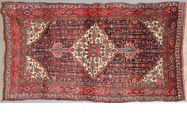 A Bidjar rug  size approximately 4ft. 1in. x 7ft. 4in.