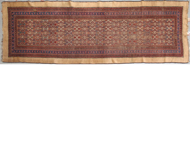 A Serab runner  size approximately 3ft. 5in. x 9ft. 10in.