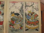 Attributed to Yanagi Buncho (1764-1801) Painting album