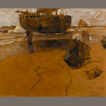 William Frederick Ritschel (American, 1864-1949) Katwyk Strand, Holland sight: 25 x 31in