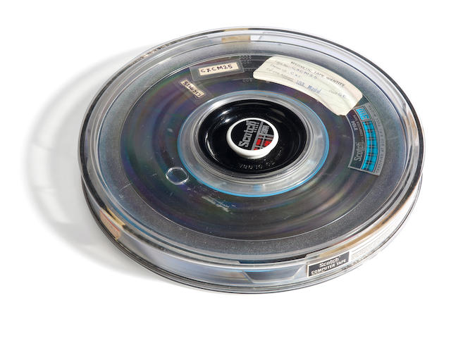 Mariner Mariner IV picture data magnetic tape spool