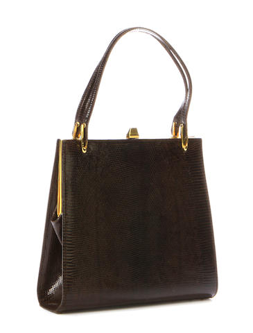 A lizard handbag