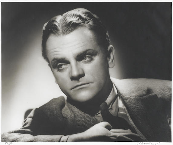 A JAMES CAGNEY (HURRELL) PORTRAIT, LTD SIGNED EDITION #73/190