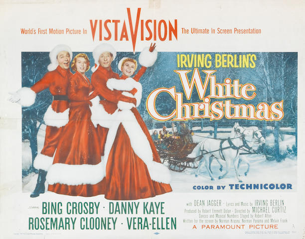 A GROUP OF THREE POSTERS: LITTLE BOY LOST, HALF SHEET., WHITE CHRISTMAS HALF SHEET., HERE COMES THE GROOM ONE SHEET.