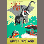 "JUNGLE RIVER POSTER, APPROX. 36"" X 54"""