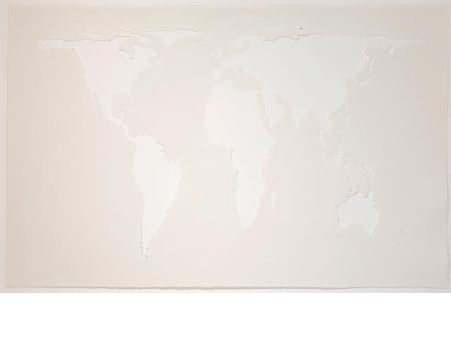 Mona Hatoum (born 1952) Projection (Cotton), 2006 35 x 55in. (88.9 x 139.7cm)
