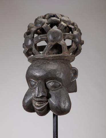 Grasslands Helmet Mask, Cameroon