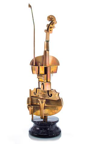 Arman (1928-2005) Violin 28 3/8in. (72.1cm)