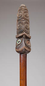 Maori Fighting Staff, New Zealand
