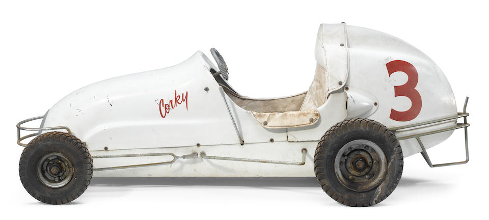 A late 1950's 1/4 Midget race car by Race Craft,