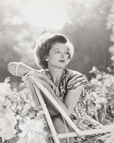 A group of Myrna Loy photographs