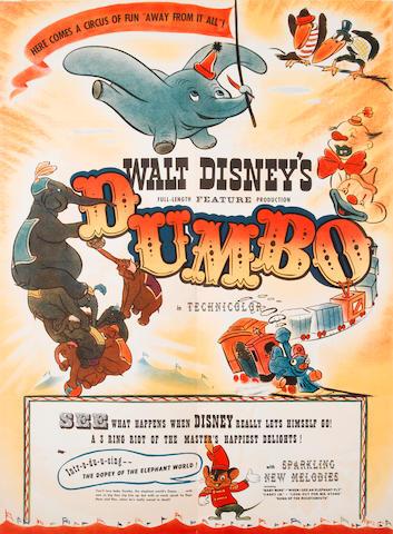 Dumbo Exhibitor's Poster