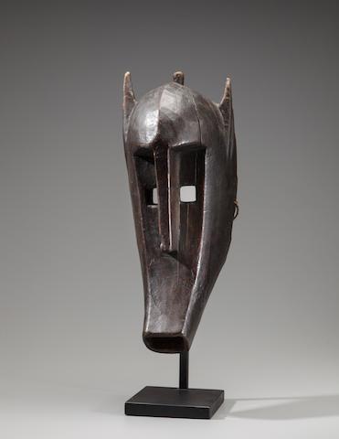 Bamana Hyena Mask for the Kore Society, Mali