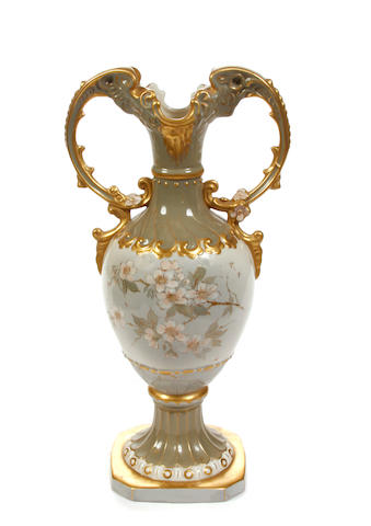 A Royal Dux porcelain vase