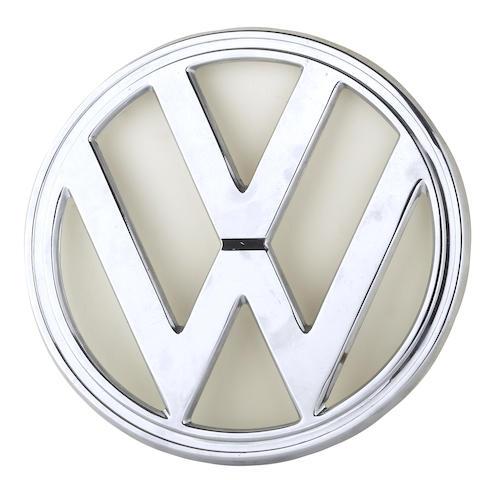 A Volkswagen VW embelem, c. 1969,