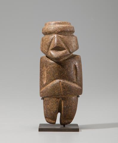 Mezcala Figure<BR />Late Preclassic, ca. 300 - 100 B.C.