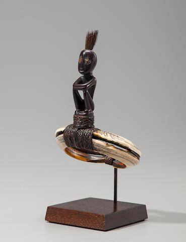Dayak Figural Arm Ornament, Indonesia