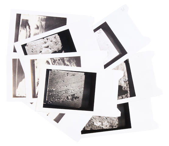 Surveyor Surveyor III original Polaroids shot of CRT images, bundle
