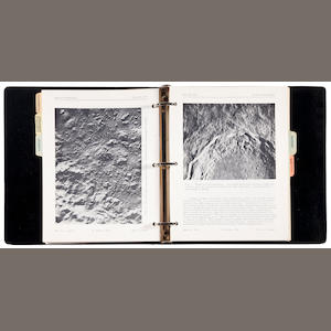 JPL Lunar Scientific Model, 1971, 2 binders