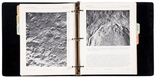 HAINES, E.L., editor. Lunar Scientific Model. [Pasadena, CA]: JPL, August 27, 1969-December 7, 1971.