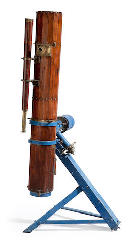 TELESCOPE—ENGLISH. A very large 7-inch reflecting telescope, England, c.1870,