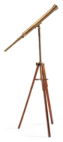 MOGEY, WILLIAM AND DAVID. A 3-inch refracting telescope, Bayonne, NJ, c.1900,