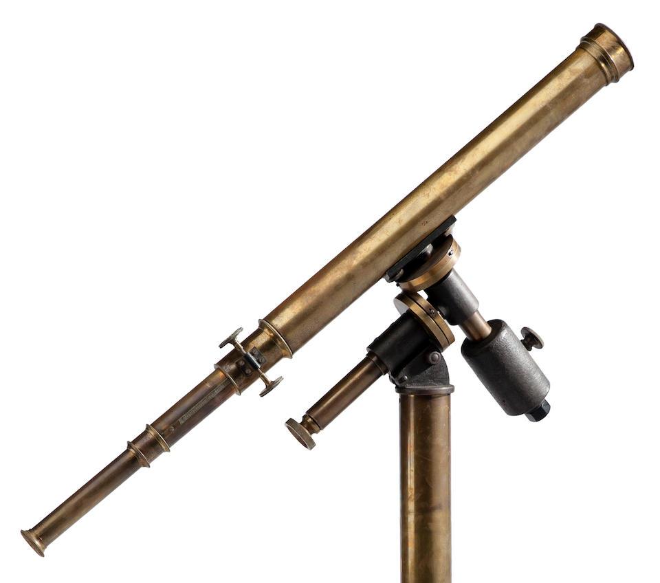 MERZ, G. & S. A 2-inch refracting telescope, c.1865,