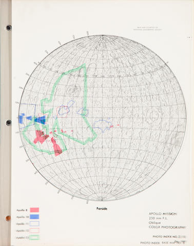 SCHIMERMAN, LAWRENCE A., editor.  Lunar Cartographic Dossier. St. Louis, MO: Defense Mapping Agency for NASA, [1973].