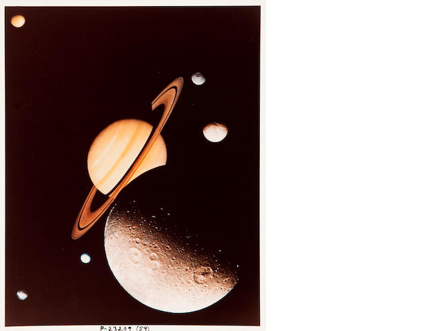 "VOYAGER.  1. ""Voyager to Jupiter."" [Probably Pasadena, CA: JPL, c.1979.]"