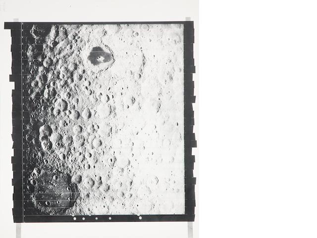 Lunar Orbiter LO I M136