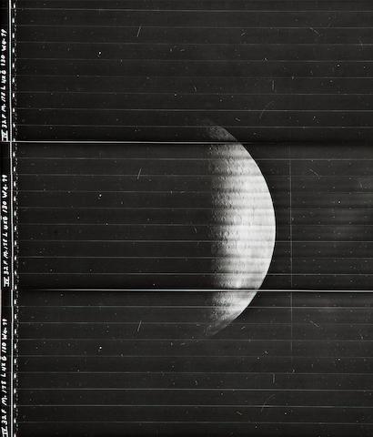 Lunar Orbiter LO IV M178
