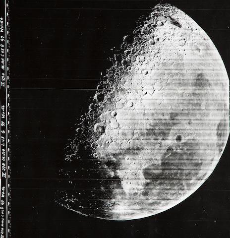 Lunar Orbiter LO IV M164