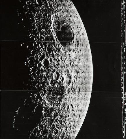 Lunar Orbiter LO V M103