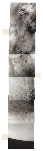 VIKING ORBITER. Hand mosaic of...,  reference 204S 51-61 odd only,