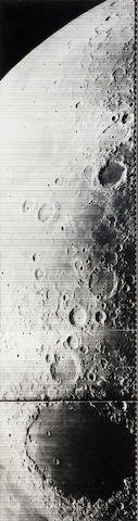 LUNAR ORBITER IV. Telephoto panorama of the Mare Crisium, May 25, 1967,