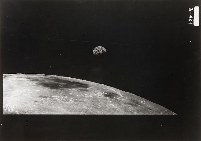 ZOND-8. Group of 23 photographs of the Moon, October 24, 1970,