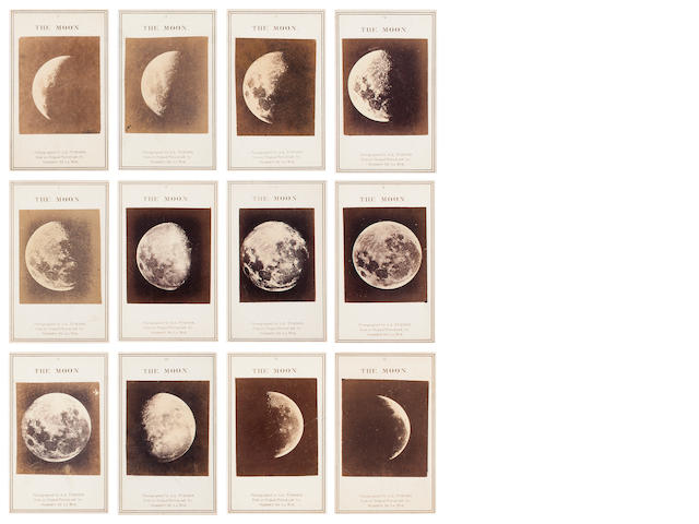 De la Rue, Warren A Series of Twelve Photographs of the Moon, CDVs
