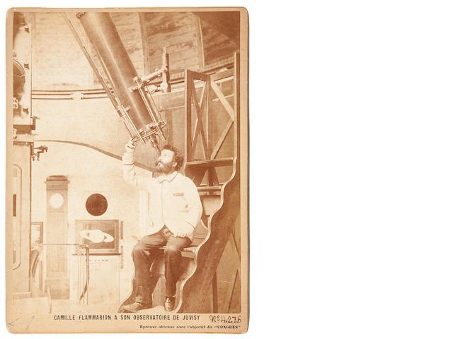 Flammarion, Camille Large cabinet portrait