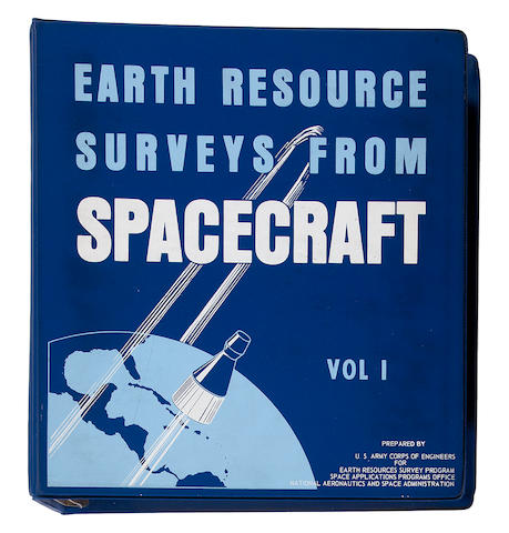 WHITE, RICHARD A., editor. Earth Resource Surveys from Spacecraft. Fort Belvoir, VA, and Houston, TX: US Army Corps of Engineers, and Earth Resources Group, NASA, February 15, 1967.