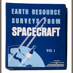 ERSat Earth Resource Survey Program, 2 binders, original photos
