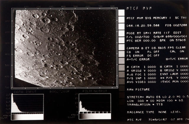 MARINER X. Data package assembled by the Imaging Science Team at JPL, March 17, 1975, comprising: