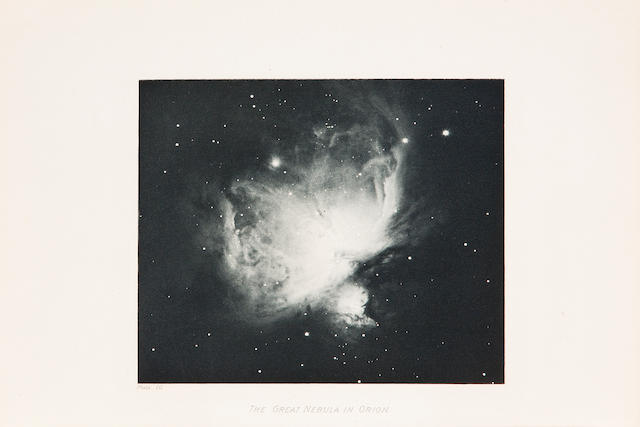 KEELER, JAMES EDWARD. 1857-1900. Photographs of Nebulæ and Clusters made with the Crossley Reflector. [In:] University of California Publications. Publications of the Lick Observatory. Sacramento: W.W. Shannon, Superintendent of State Printing, 1908.