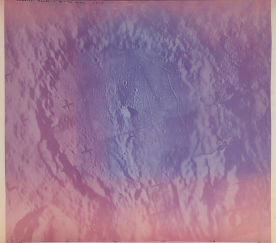 RANGER IX. Alphonsus crater, March 24, 1965,