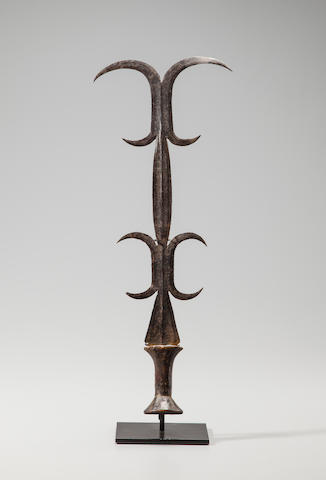 Kanda Ceremonial Knife, Democratic Republic of the Congo