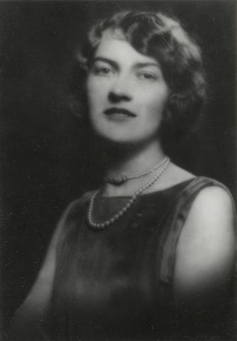 Arnold Genthe photograph of a woman, possibly Margaret Teasdale, circa 1920s.